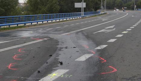 Un conductor va morir diumenge a la C-26 a Balaguer.