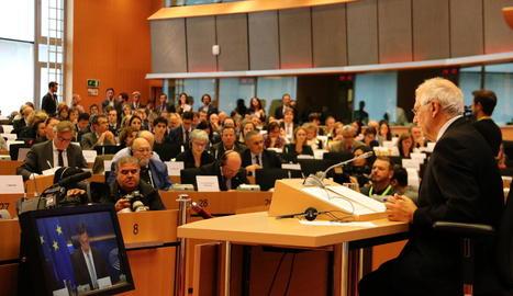 Borrell es va enfrontar a l'examen de l'Eurocambra abans de ser nomenat cap de la diplomàcia de la UE.