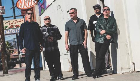 La banda nord-americana de reggae i ska The Aggrolites.