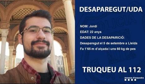 Busquen un lleidatà desaparegut des de fa més d'un mes