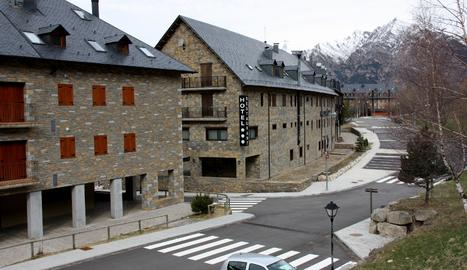 Imatge d'arxiu d'un dels hotels del Pla de l'Ermita.