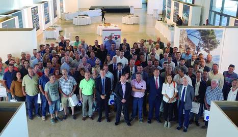 Imatge dels participants en la jornada empresarial.
