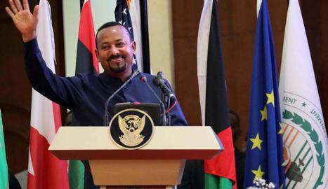 El primer ministre etíop Abiy Ahmed Ali.