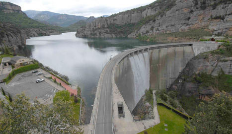 Imatge d'arxiu de la presa de la Llosa del Cavall, a la comarca del Solsonès.