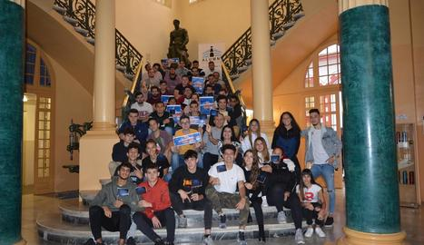 L'Escola del Treball s'uneix a la celebració Erasmus Days