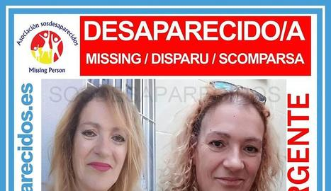 SOS Desapareguts va difondre la foto de María Dolores en xarxes.