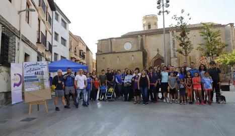 Caminada per commemorar el 25è aniversari de l'Associació d'Alcohòlics Rehabilitats de Lleida