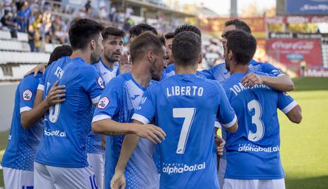 El Lleida derrota el Prat 2-0 i segueix en ratxa