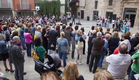 Protestes a les comarques lleidatanes per la sentència al procés
