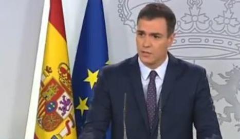 Sánchez cierra la puerta a posibles indultos