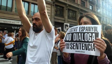 Treballadors del departament de de Polítiques Digitals Administració Pública a Barcelona.