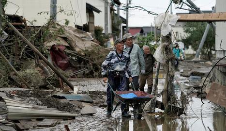 Augmenta a 58 la xifra de morts al Japó amb el pas de Hagibis