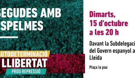 ANC i Òmnium convoquen concentracions per aquesta tarda davant les delegacions del govern espanyol