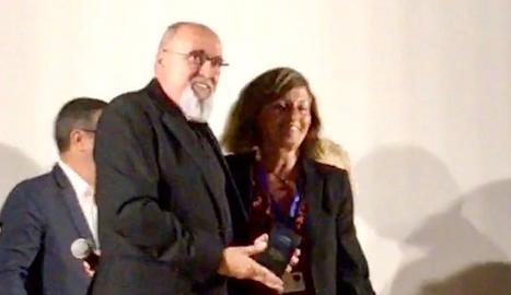 El director de la Mostra, Juan Ferrer, va recollir el premi a Begur.