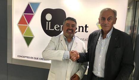 Acord entre el Força Lleida i Ilerdent