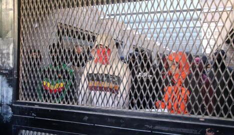 Tensió per una tancada que impedia accedir al Rectorat
