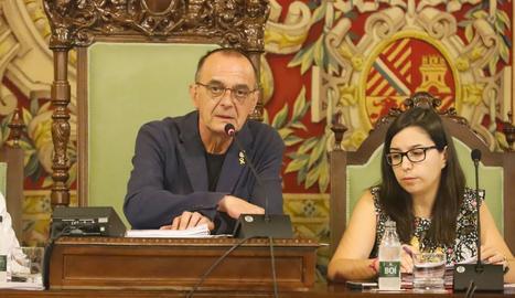 Miquel Pueyo i Jordina Freixanet, en una imatge d'arxiu
