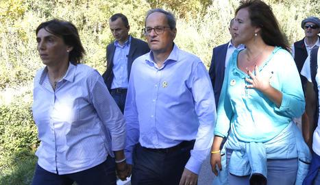 Torra ha participat en la columna gironina de les Marxes per la Llibertat.