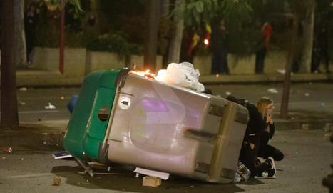 Imatges dels disturbis de la nit de dimecres