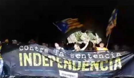 VIDEO. Gritos de independencia en el túnel del Bruc