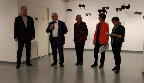 'Diàleg' creatiu a Lleida de les artistes Vall Palou i Felícia Fuster