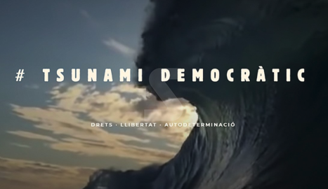 L'Audiència Nacional ordena el tancament dels webs de Tsunami Democràtic