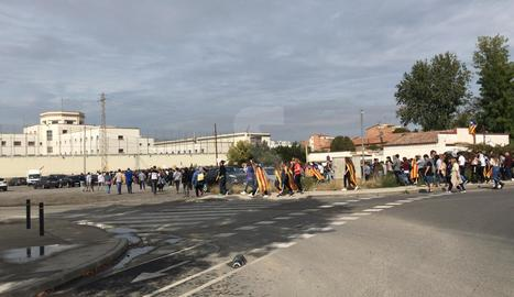 Unes 3.000 persones arriben a la presó de Lleida