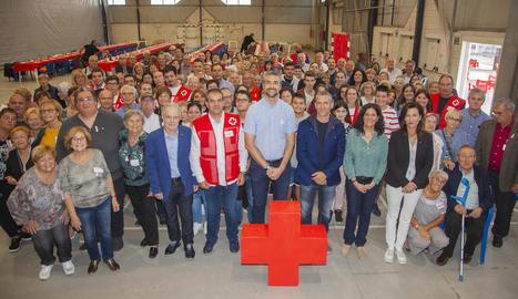 Un total de 160 voluntaris de Creu Roja se citen a Agramunt