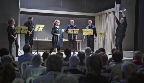 Els membres del sextet, naturals de la Segarra i l'Urgell.