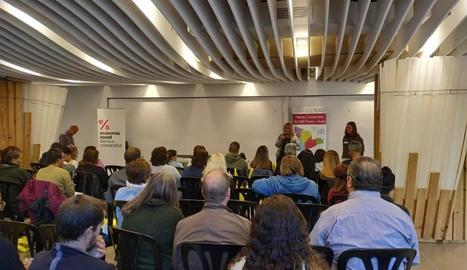 Un moment de la jornada de 'networking' de l'Alta Ribagorça.