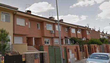 El carrer Francia de Valdemoro, on van succeir els fets.