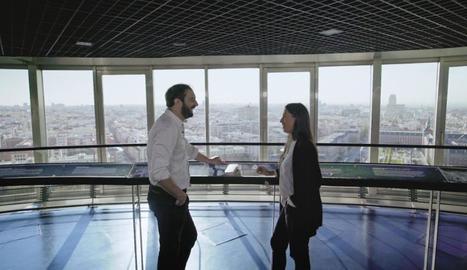 Pere Estupinyà i Soledad Antelada, enginyera en ciberseguretat.
