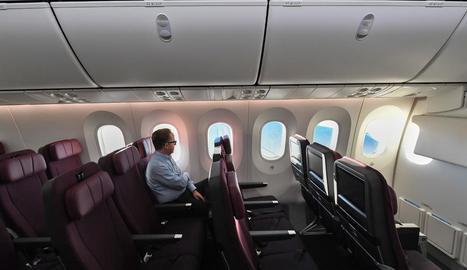 Un dels passatgers que van participar en la prova.