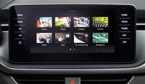 El nou SUV urbà Skoda Kamiq i el compacte Scala ja poden controlar-se amb l'ajuda de Laura, el nou Assistent Digital de Skoda.