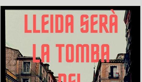 Els CDR de Lleida convoquen una concentració davant de l'acte de Vox a Lleida