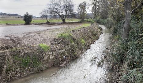Imatge d'arxiu del riu Sió.