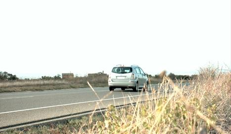 El vehicle sorprès dissabte a 197 km/h per la C-14 a Ciutadilla.