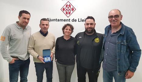 El Futsal Lleida demana a la Paeria més hores a Pardinyes