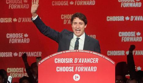Trudeau necessitarà pactar amb l'oposició per poder governar.