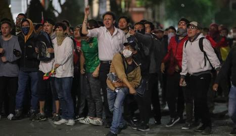 Protestes a Bolívia després d'un recompte que dóna la victòria a Morales