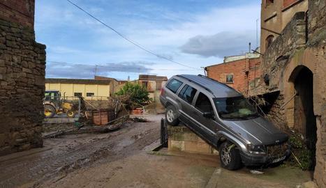 Més danys per culpa del temporal a l'Albi