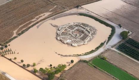 Els Vilars d'Arbeca després del temporal de pluja