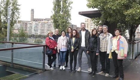 Candidats d'En Comú Podem per Lleida.