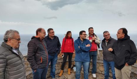 Els participants de Lleida que van assistir a les jornades.