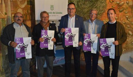 La Cursa de la Barca es va presentar ahir a la Diputació de Lleida.
