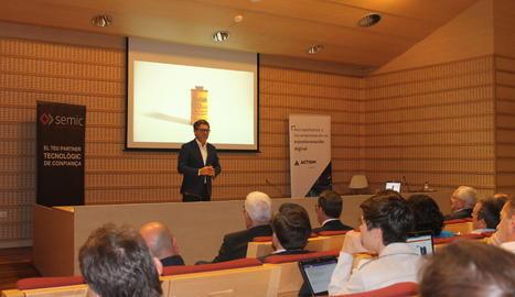 Marc Vidal va ser un dels ponents estrella de les jornades de SEMIC
