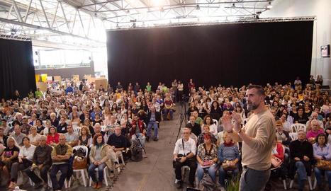 Imatge d'una de les ponències que es van celebrar ahir a la Fira d'Alimentació i Salut de Balaguer.