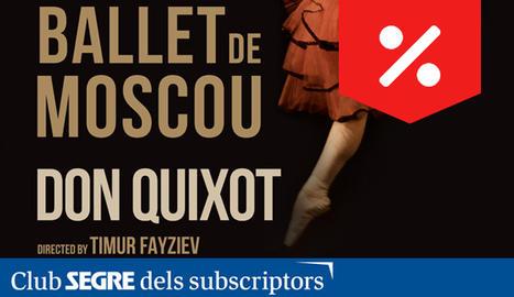 El Ballet de Moscou torna a la Llotja per presentar-nos una de les obres emblemàtiques de la dansa teatral.