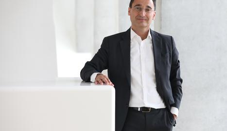 Óscar Vélez de Mendizábal, director de la factoria de transformació empresarial de BBVA Espanya.