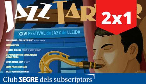 Arriba la XXVI edició del Jazz Tardor, el Festival de Jazz de Lleida del 7 al 29 de novembre.